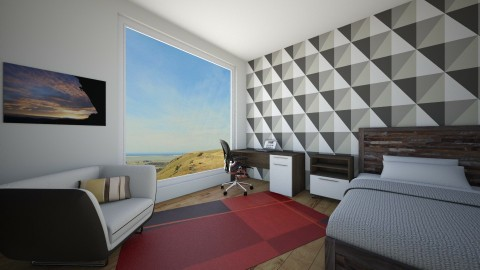 4 by 4 Bed Room  - Modern - Bedroom - by aaron97