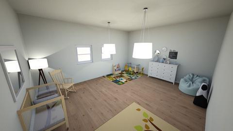 Nursery for Baby Boy - Modern - Kids room - by dominikwac004