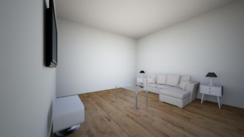 La sala - Living room - by cesarmorales11