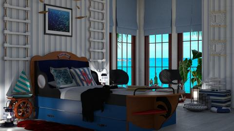 Love sea - Bedroom - by snjeskasmjeska