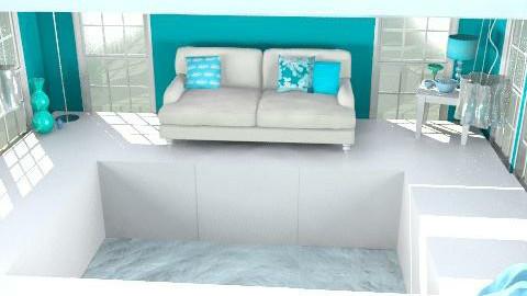 fashion room sea - Glamour - Living room - by Equus