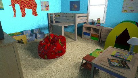 Kids Room1 - Modern - Kids room - by AubriG88