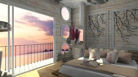 soft bedroom - Feminine - Bedroom - by randomglitter