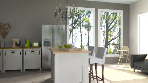 Classic kitchen - Country - Kitchen - by lottie21