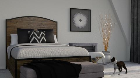 Chocolate - Eclectic - Bedroom - by millerfam