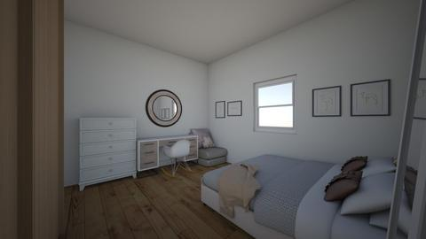 small student room - Bedroom - by Nanni 1708