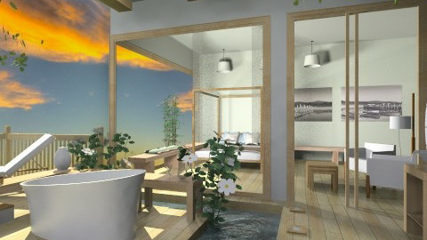 osb  - Bathroom - by mikaela7