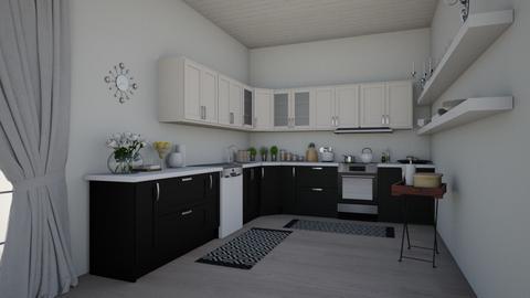 eclectic kitchen - by __Nikoletta__
