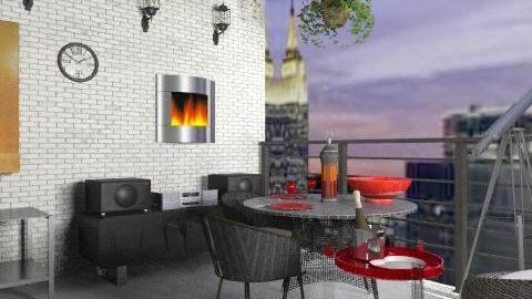 Dinner with Gershwin - Modern - Garden - by alleypea