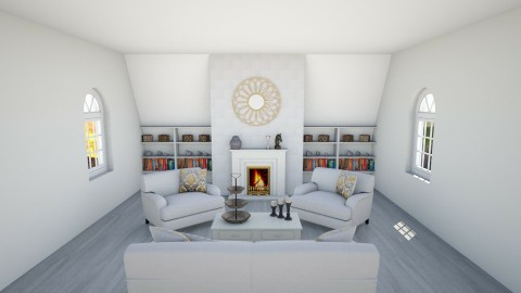Sweet Living Room   - Classic - Living room - by grandplie