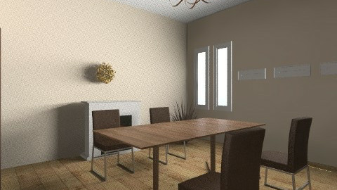 Plain Dining - Modern - Dining room - by elprisoner