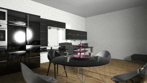 Black Kitchen  - by JA Design