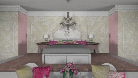Queens - Vintage - Bedroom - by psychette7