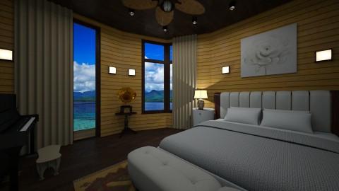 Huhu - Minimal - Bedroom - by mochie43