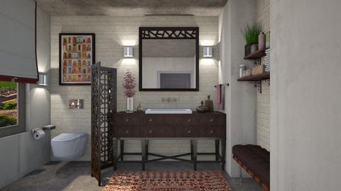 May I use your bath - Bathroom - by Joao M Palla