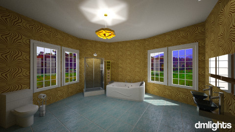 bathroom - Bathroom - by DMLights-user-1014574