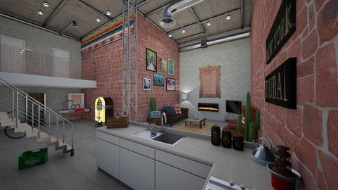 student loft 101 - Bedroom - by 80monkey