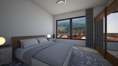 AB - Modern - Bedroom - by Twerka