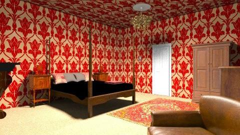 Old - Vintage - Bedroom - by BlondeGoode