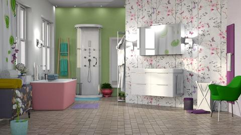 M_Spring - Bathroom - by milyca8