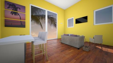 Beach House - Modern - Living room - by VibrantSplash
