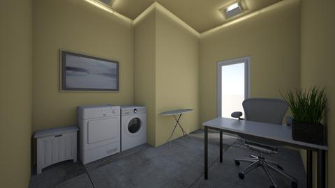 office and laundry room - Modern - Office - by jade1111