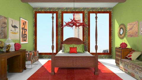 Bedroom Two - Bedroom - by Kelzoid