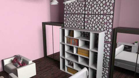 Groovy Girls Room - Glamour - Bedroom - by Rubeeees
