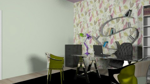 office project - Modern - Office - by dimitrafounda