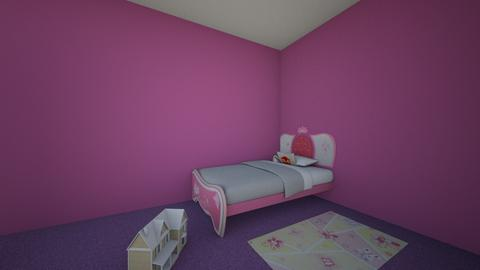 lillys room - Glamour - Kids room - by WhiteAP