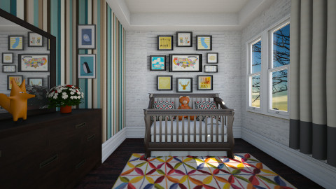 Nursery - Kids room - by Sanare Sousa