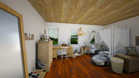 upper room - by Nan