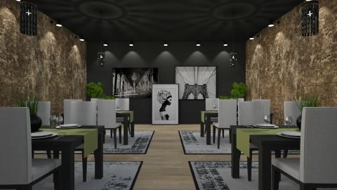 Restaurante - by Sanare Sousa