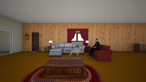 Pike Street Home - Living room - by WestVirginiaRebel