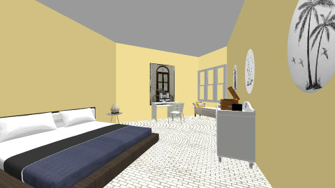 Apartment Bedroom - Bedroom - by angelaude21
