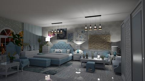 Design 7 CRYSTAL PALACE - Bedroom - by michellitamuralles