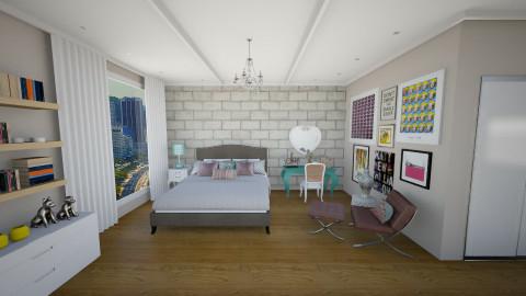 hgg - Bedroom - by julianadm