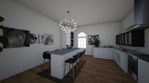 Kitchen - Minimal - Kitchen - by mh111