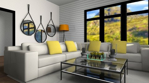 citrus - Living room - by alexafaivre