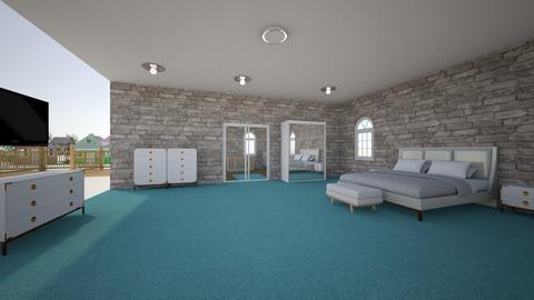 room 1 - Modern - Bedroom - by shamrjordan4