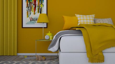 YELLOW - Modern - Bedroom - by HenkRetro1960