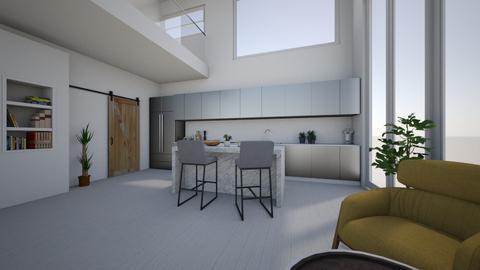 Mezzanine - Living room - by Sarah Anjuli Gailey