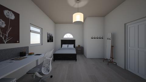 Bedroom View 1 - Minimal - Bedroom - by Yami Mei
