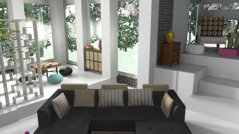 Morroccan - Eclectic - Living room - by drummerx33grl17