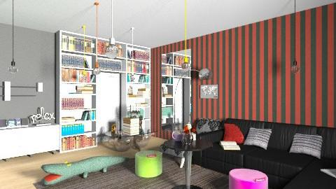 jared NYC - Living room - by cathycatarina