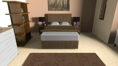Cream Bedroom - Glamour - Bedroom - by AoifeK