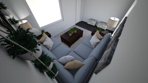 LIVING SPACE FOR REGINA - Living room - by Princessjewls88