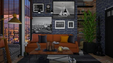 MAXIMALIST - Living room - by Miss MH