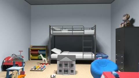 kids room 1 - Minimal - Kids room - by amwerner