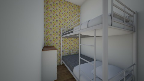 me and cousins room - Bedroom - by Rose Gold